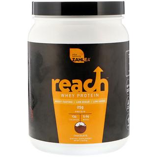 Zahler, Reach, Whey Protein, Chocolate, 1.1 lb (511 g)