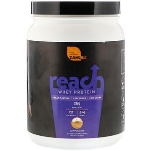Залер, Reach, Whey Protein, Cappuccino, 1.1 lb (514 g) отзывы