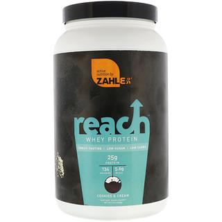 Zahler, Reach, Whey Protein, Cookies & Cream, 2.2 lb (1008 g)