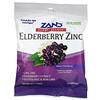 Zand, Elderberry Zinc, Herbalozenge, Saúco dulce, 15 pastillas