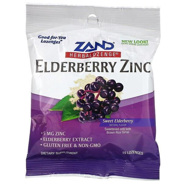Zand, زنك الخمان، Herbalozenge، الخمان الحلو، 15 معين