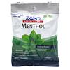Zand, メントール、Herbalozenge、心休まるメントール、メンソールのトローチ 15粒