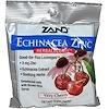 Zand, زنك القنفذية، Herbalozenge، كرزية للغاية، 15 حبة على شكل معين