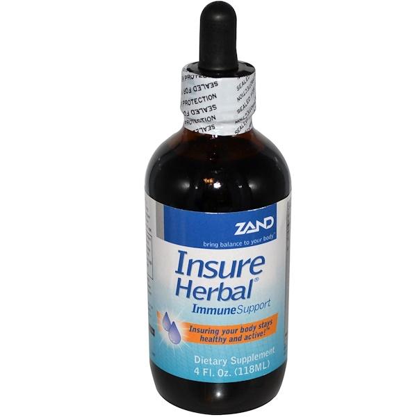 Zand, Insure Herbal, Immune Support, 4 fl oz (118 ml) (Discontinued Item)