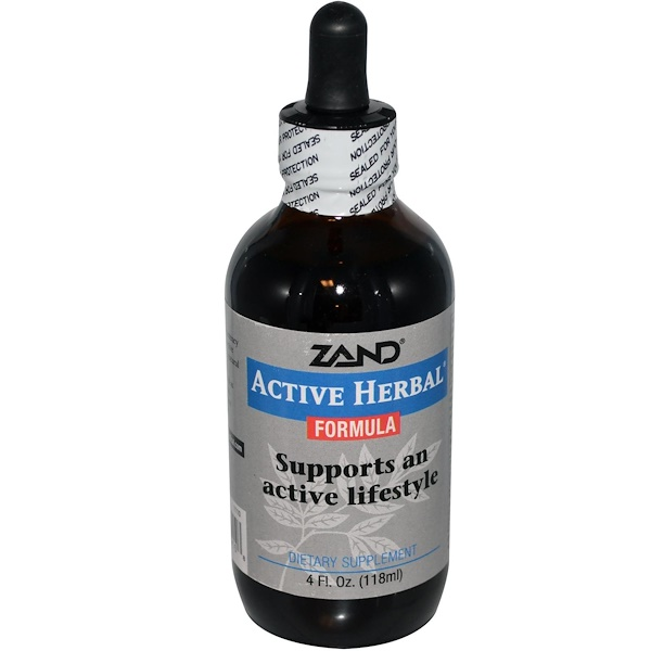 Zand, Active Herbal Formula, 4 fl oz (118 ml) (Discontinued Item)