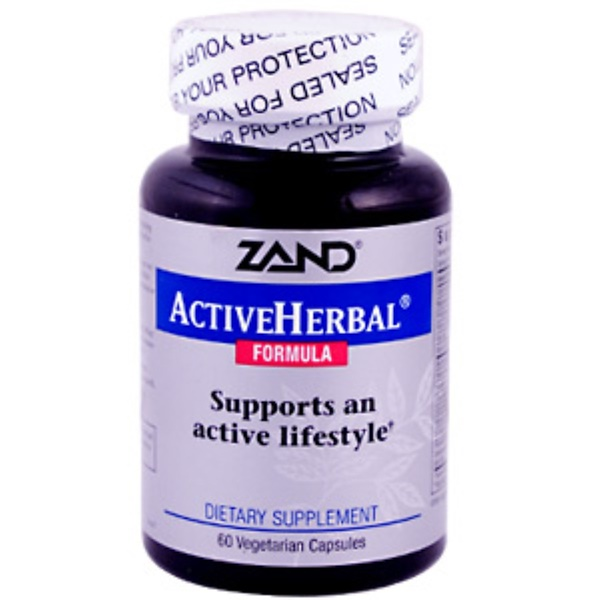 Zand, Active Herbal Formula, 60 Veggie Caps (Discontinued Item)