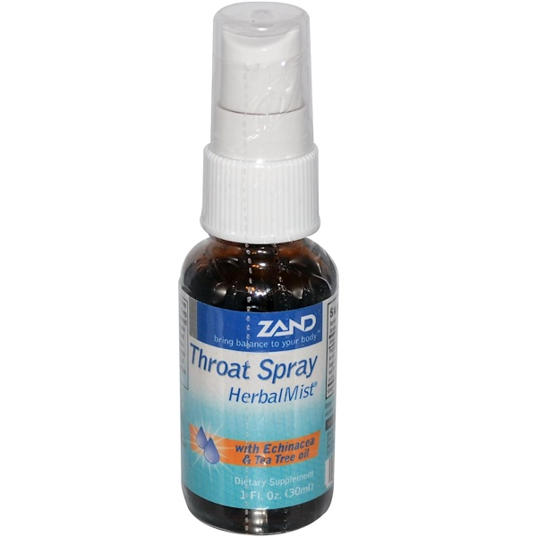 Zand, Throat Spray, Herbal Mist, 1 fl oz ( 30 ml) (Discontinued Item)