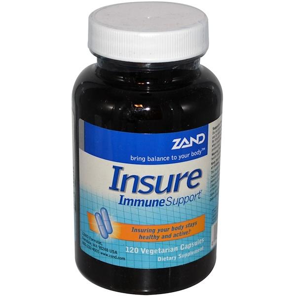 Zand, Insure, Immune Support, 120 Veggie Caps (Discontinued Item)