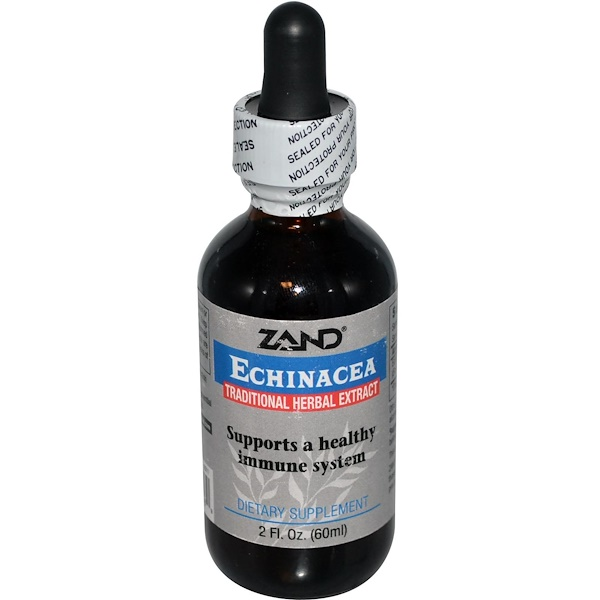 Zand, Echinacea, Traditional Herbal Extract, 2 fl oz (60 ml) (Discontinued Item)