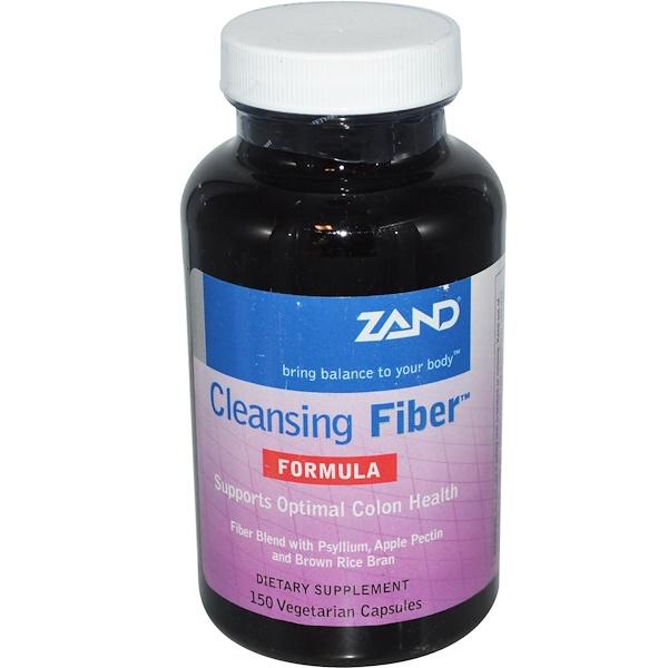 Zand, Cleansing Fiber Formula, 150 Veggie Caps
