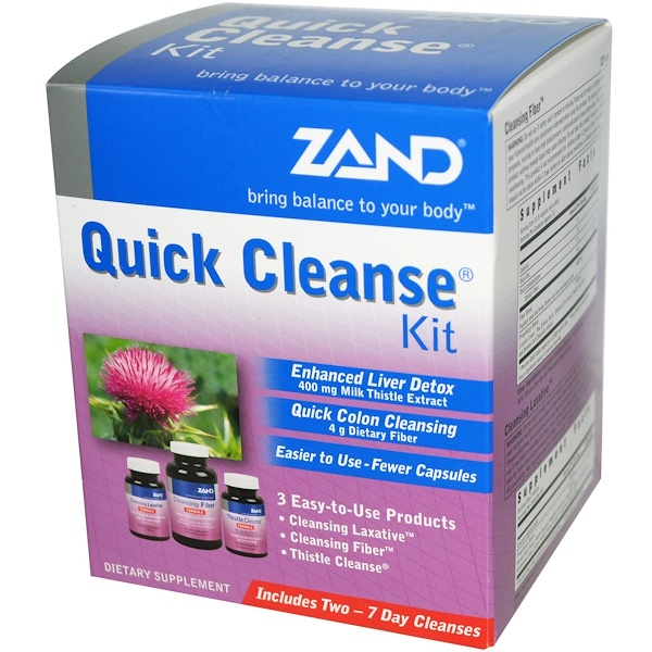 Zand, Quick Cleanse Kit, 3 Part Program (Discontinued Item)