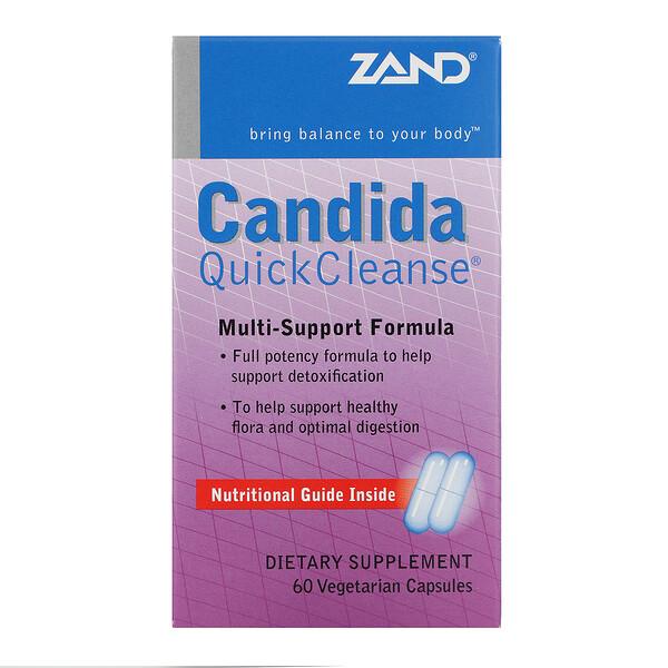 Candida Quick Cleanse, 60 Vegetarian Capsules
