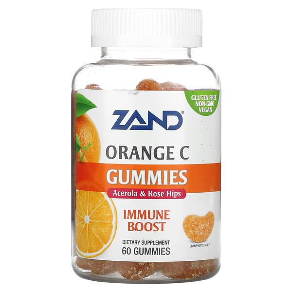 Orange C Gummies, 60 Gummies