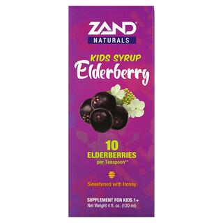 Zand, Kids Syrup, Elderberry, 4 fl oz (120 ml)