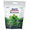 Zand, Herbalozenge, Menthol, Soothing Menthol, 80 Lozenges