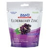 Zand, HerbaLozenge, Elderberry Zinc, Sweet Elderberry, 80 Lozenges