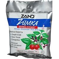 Леденцы от кашля с вишнево-ментоловым вкусом Zumka, Herbalozenge, Cherry Menthol Flavor, 15 гомеопатических леденцов - фото