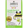 Zarbee's, Bebê, Xarope Contra Tosse + Muco, Sabor Natural de Uva, 2 fl oz (59 ml)