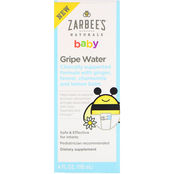 Baby, Gripe Water, 4 fl oz (118 ml)