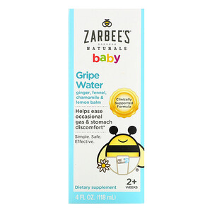 Зарбис, Baby, Gripe Water, 4 fl oz (118 ml) отзывы