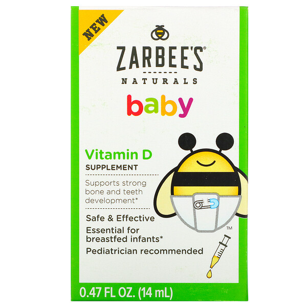Baby, Vitamin D, 0.47 fl oz (14 ml)