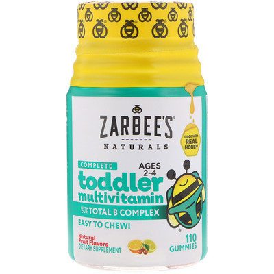 Complete Toddler Multivitamin, 110 Gummies цена 2017