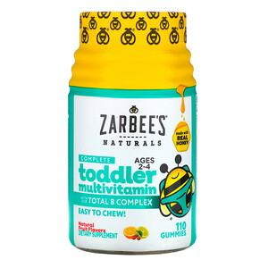Зарбис, Complete Toddler Multivitamin, Ages 2-4, Natural Fruit Flavors, 110 Gummies отзывы покупателей