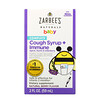 Zarbee's, Baby Cough Syrup + Immune, Natural Berry Flavor, 2 fl oz (59 ml)