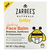 Zarbee's, Baby, успокиавающий бальзам для лица, 49,6г (1,75унции)