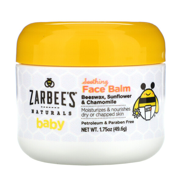 Zarbee's, Baby, Soothing Face Balm, 1.75 oz (49.6 oz)