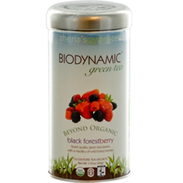 Zhena's Gypsy Tea, Biodynamic, Black Forest Berry, 15 Couture Tea Sachets, 1.05 oz (30 g) (Discontinued Item)