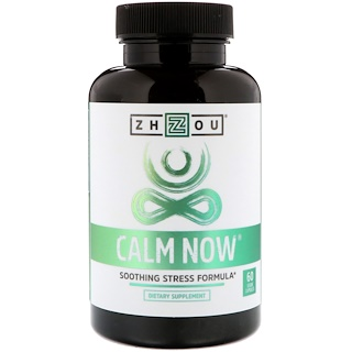 Zhou Nutrition, Calm Now, Soothing Stress Formula, 60 Veggie Capsules