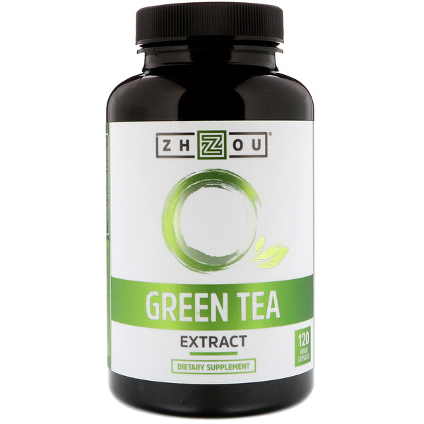 Green Tea Extract, 120 Veggie Capsules