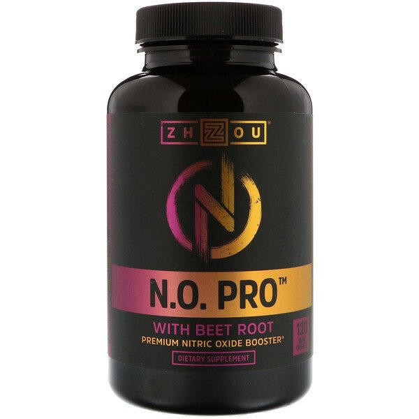 N.O. Pro with Beet Root, 120 Veggie Capsules