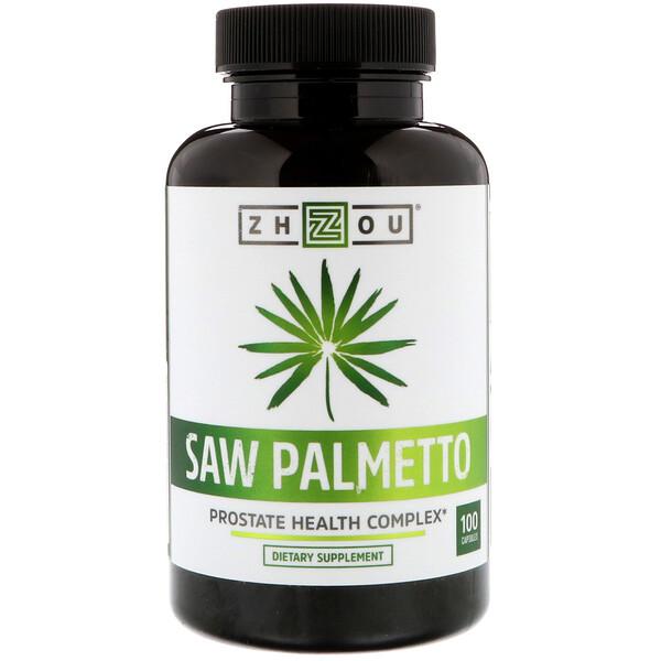 Saw Palmetto, Prostate Health Complex, 100 Capsules