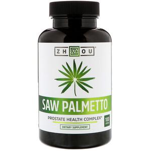 Zhou Nutrition, Saw Palmetto, Prostate Health Complex, 100 Capsules отзывы покупателей
