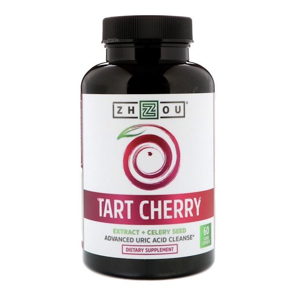 Tart Cherry Extract + Celery Seed, 60 Veggie Capsules