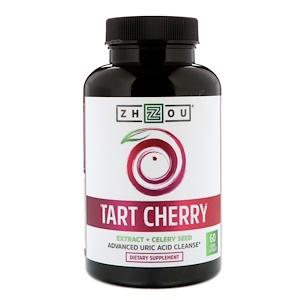 Zhou Nutrition, Tart Cherry Extract + Celery Seed, 60 Veggie Capsules отзывы покупателей