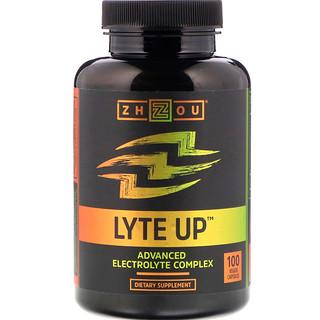 Zhou Nutrition, Lyte Up, Advanced Electrolyte Complex, 100 Veggie Capsules