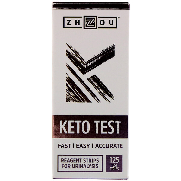 Keto Test, 125 Test Strips