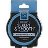Zhou Nutrition, Iron Beard,Sculpt & Smooth滋潤膏,雪松和檀香,2液盎司(60毫升)