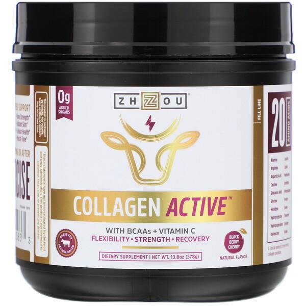 Collagen Active, Black Berry Cherry, 13.8 oz (378 g)