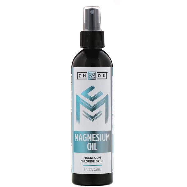 Zhou Nutrition, Aceite de magnesio, 237ml (8oz.liq.)