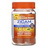 Zicam, Cold Remedy, Medicated Fruit Drops, Ultimate Orange, 25 Drops