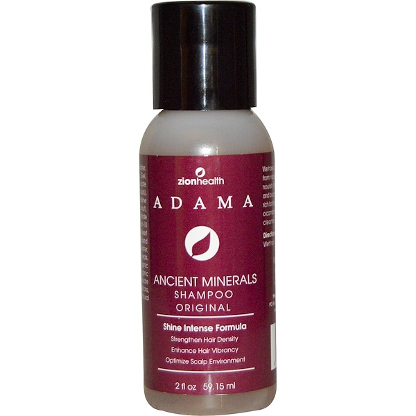Zion Health, Adama, Clay Minerals Shampoo, 2 oz (Discontinued Item)