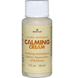 Zion Health, Adama Minerals, Calming Cream, 1 fl oz (30 ml)