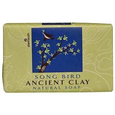 Zion Health 古粘土天然皂,鳥鳴,6盎司(170克)