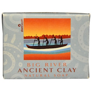 Zion Health, Ancient Clay Natural Soap, Big River, 10.5 oz (300 g)
