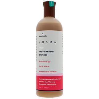 Zion Health, アマダの古代ミネラルシャンプー、ピーチジャスミン、16 fl oz (473 ml)