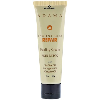 Zion Health, Adama, Ancient Clay Repair, Healing Cream, 2 oz (60 g)